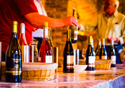 Degustacia vina v Modre