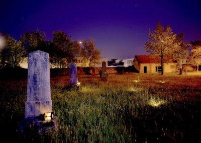 Nočná lampášová prehliadka cintorína
