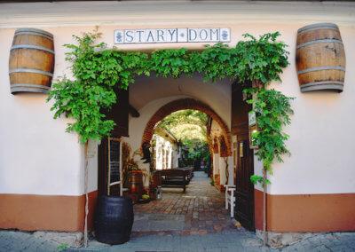 Starý Dom - reštaurácia v Modre